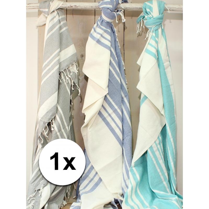 Hamam handdoek xl zeegroen 200 x 240 cm