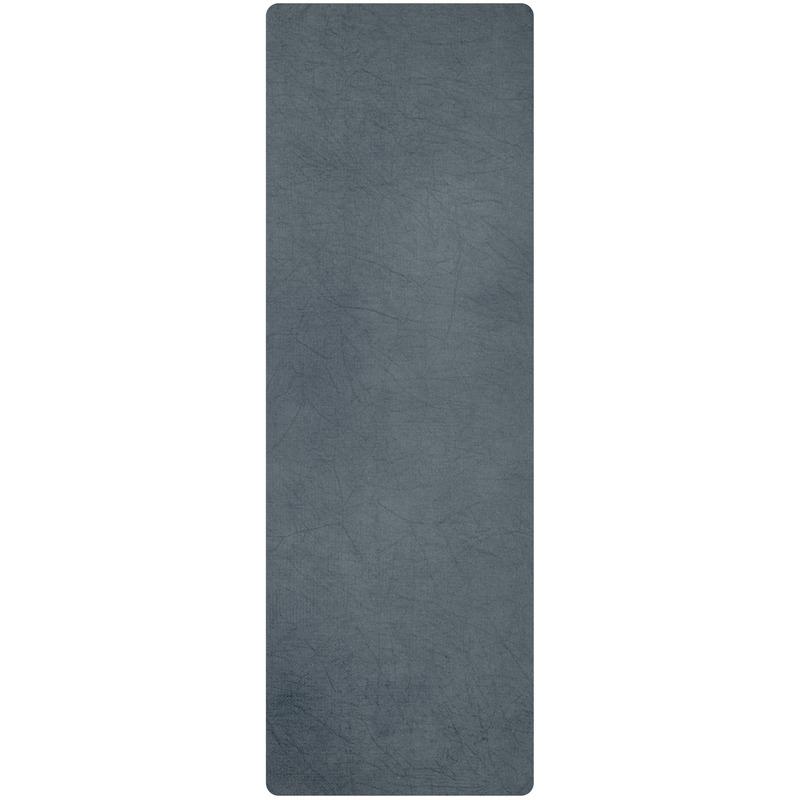 Yoga handdoek grijs 183 x 61 cm