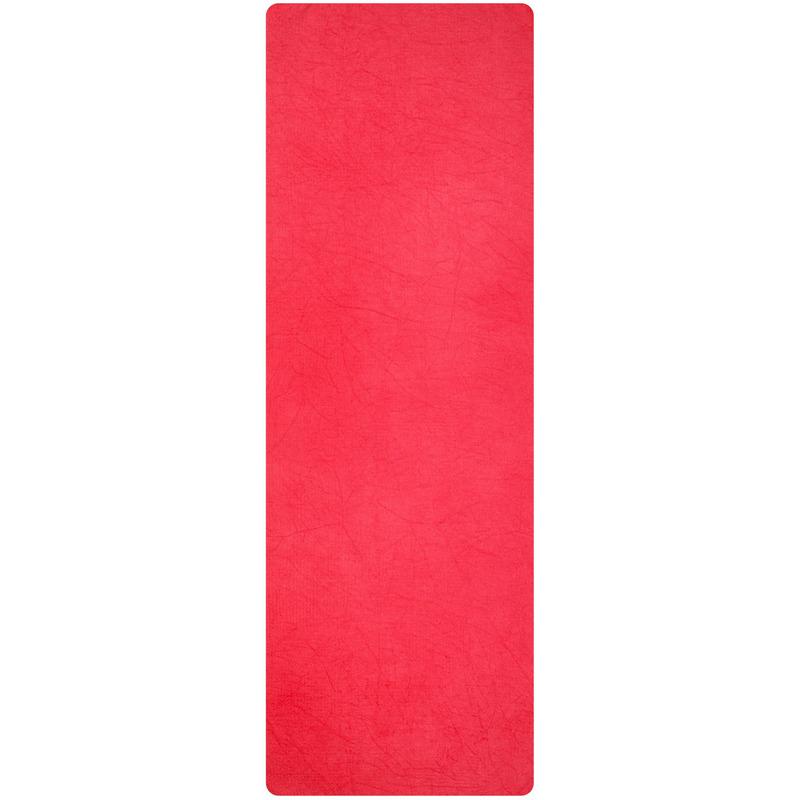 Yoga handdoek roze 183 x 61 cm